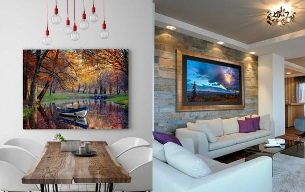 salon için büyük tablolar