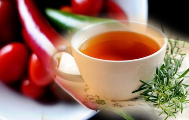 Acı biber çayı