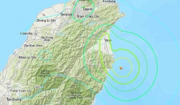 Tayvanâda Åiddetli deprem! Uyarı geldi...