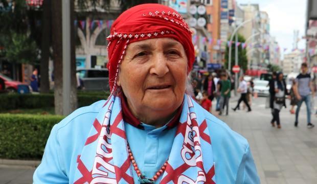 Trabzonlu teyze, Yusuf Yazıcı'nın gidişini yorumladı