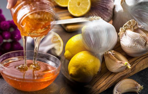 Sarımsak bal ve limon kürü