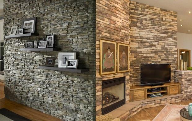 doğal taş ev dekorasyonu