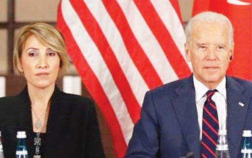 Selda Tandoğan Demirel ve Joe Biden...