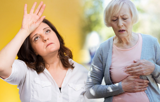 Menopozda ateş basması