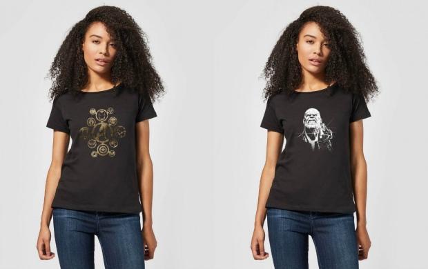 marvel t shirt siyah