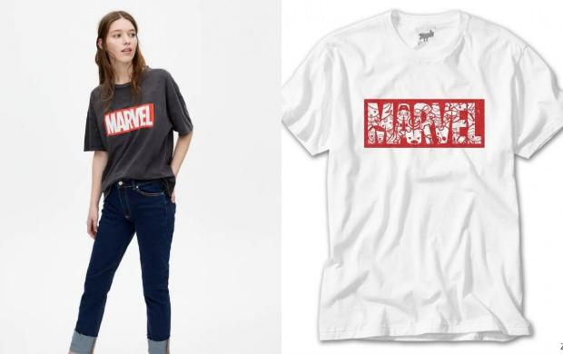 marvel t shirt pull and bear