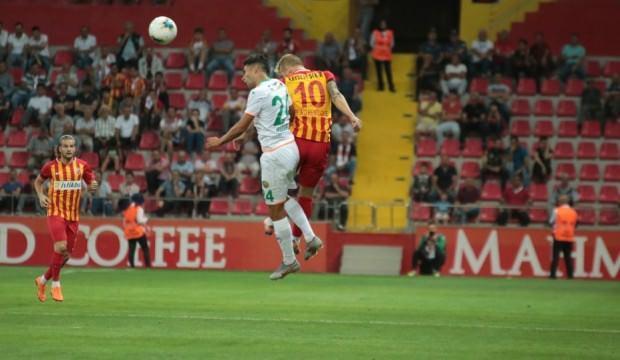 Alanyaspor Kayseri'de kazandı