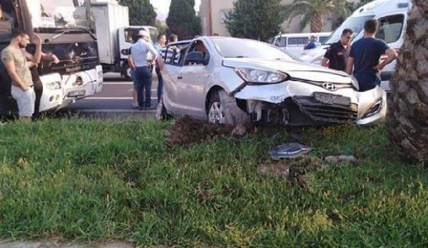 Aydın'da kaza: 1 ölü, 5 yaralı