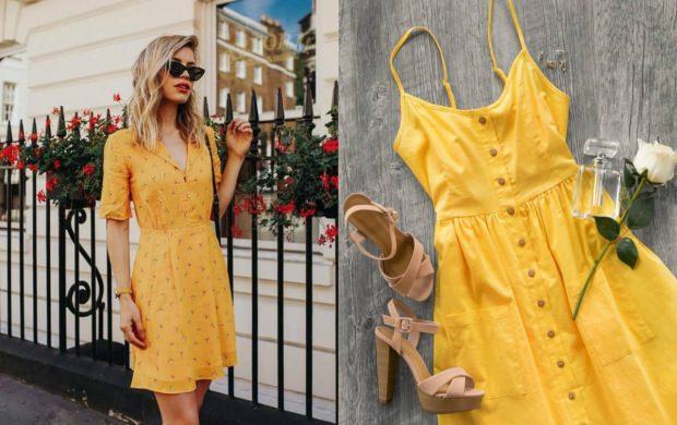 sarı renk gömlek