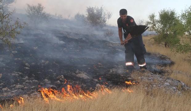 Elazığ'daki orman yangını 5 saatte kontrol altına alındı