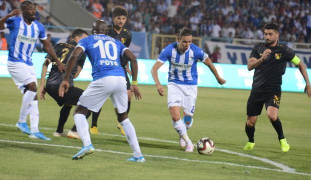 Erzurum'da 4 gol var kazanan yok!