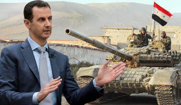 Esad ateşle oynuyor…