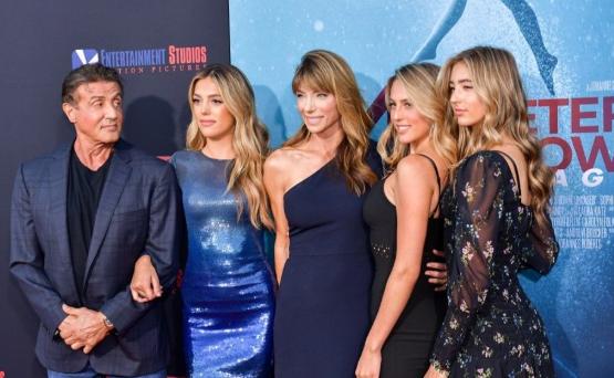 Sylvester Stallone ve kızları