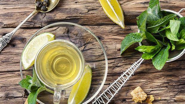 Limonlu yeşil çay tarifi