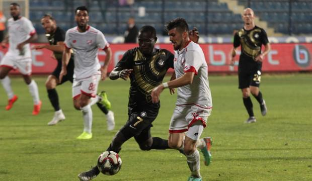 Osmanlıspor 85'te galibiyete uzandı