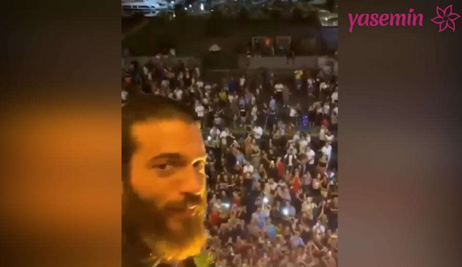 Oyuncu Can Yaman'ın İtalyan hayranları çıldırdı!
