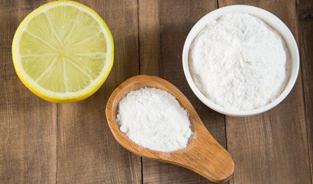 limon ve karbonat karışımı