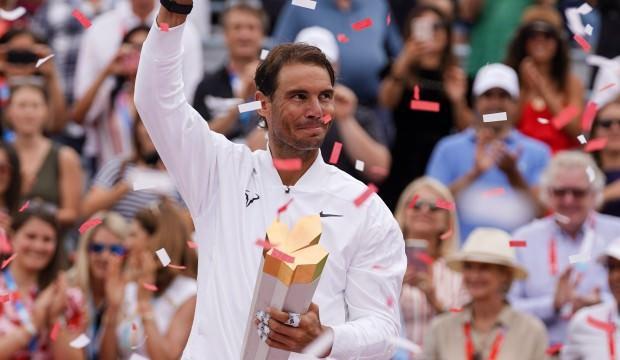 Rogers Cup'ta şampiyon Nadal!