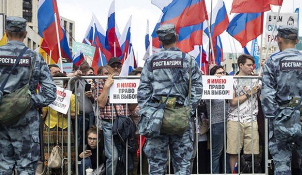Rusya'daki protestolara Kremlin'den ilk açıklama