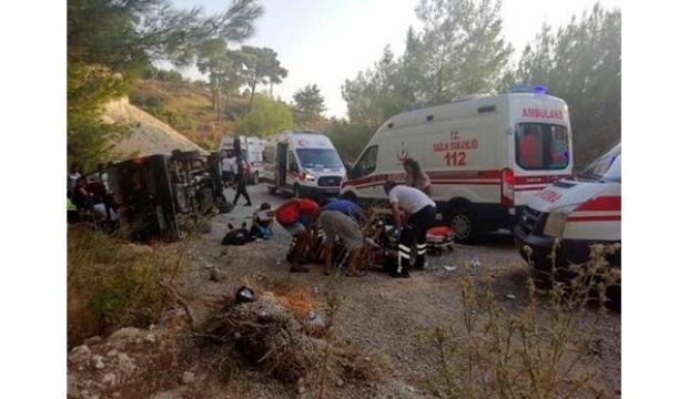 Safari cipi devrildi: 16 yaralı