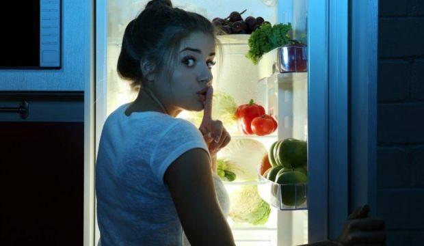 Buzdolabıyla fenomen oldu