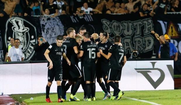 UEFA'dan Partizan'a ceza