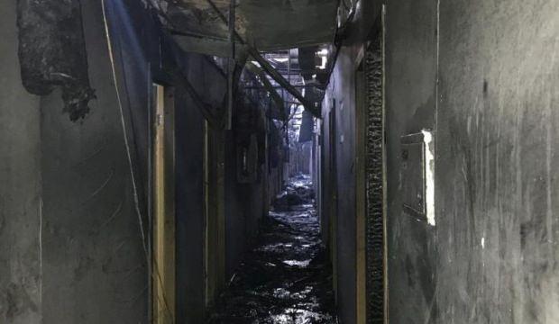 Ukrayna'da facia yangın: 9 ölü