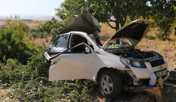 Uşak'ta feci kaza: 1 ölü 3 yaralı