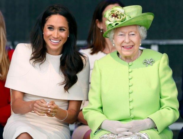 Meghan Markle Kraliçe 2'nci Elizabeth