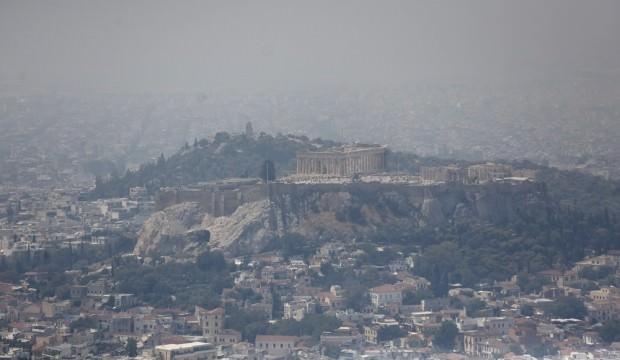 Yunanistan'da yangın: Saatlerdir kontrol altına alınamadı