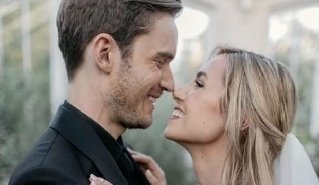 Sosyal medya yıldızı Marzia Bisogin ile ünlü YoutuberPewDiePie evlendi