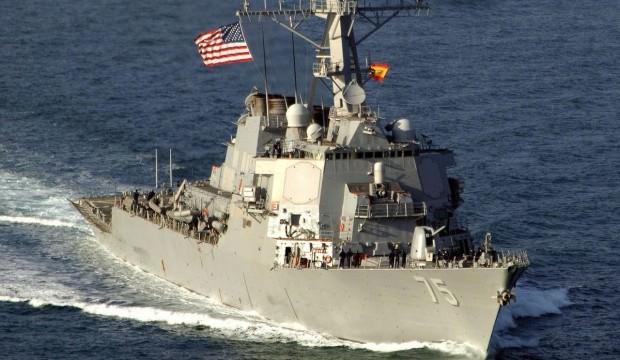 ABD'den tehlikeli hamle! Savaş gemisini gönderdi
