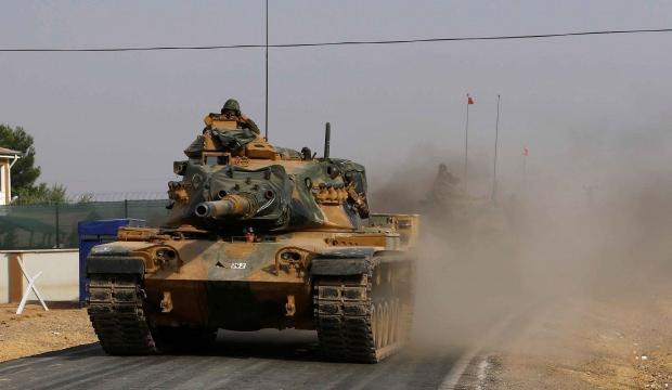Azez'de terörle mücadele için yollar yenileniyor!