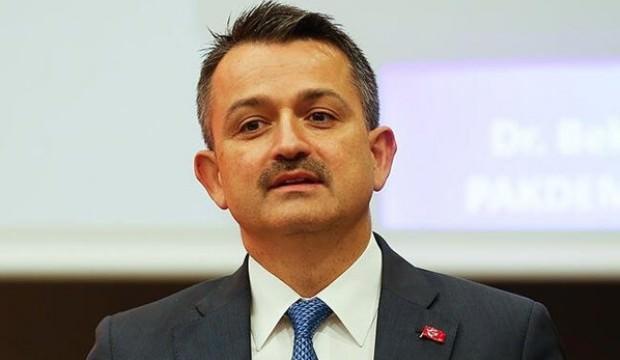 Bakan Pakdemirli: Türkiye 4 üründe dünyada lideri
