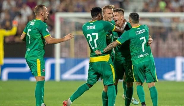 Çakır'ın yönettiği maçta Slavia Prag galip