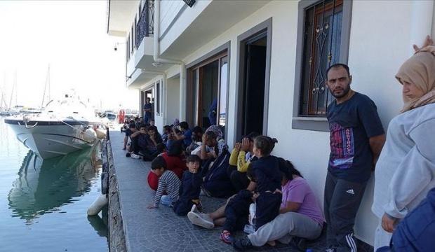 Çanakkale'de 330 düzensiz göçmen yakalandı