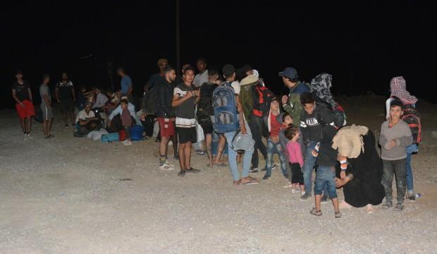 Çanakkale'de 72 göçmen yakalandı