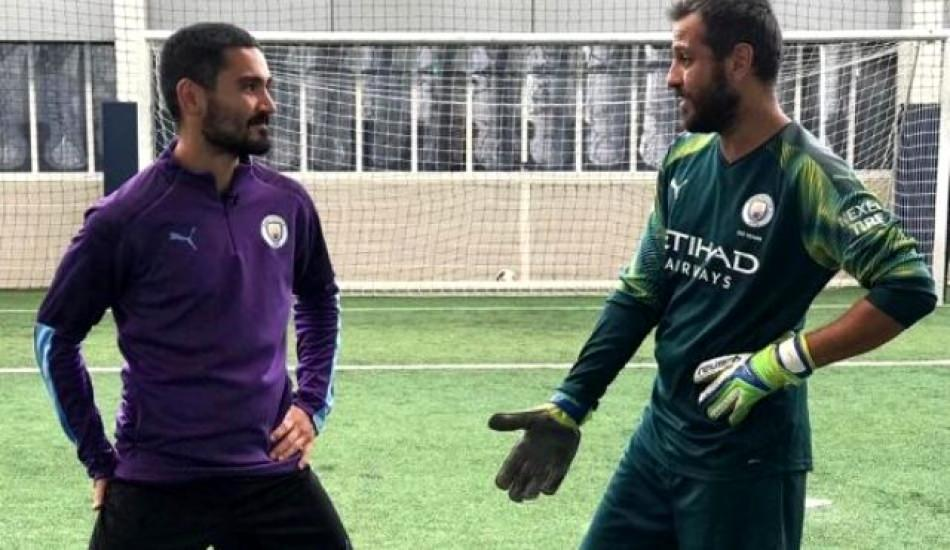 Erkan Kolçak Köstendil Manchester City idmanına çıktı