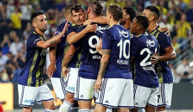 Fenerbahçe gol şovla zirveye!