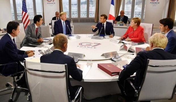 G-7 Zirvesi'nde yeni gelişme! Anlaşma sağlandı