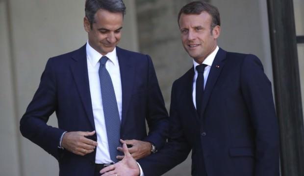 Macron'dan Türkiye'ye karşı tehdit