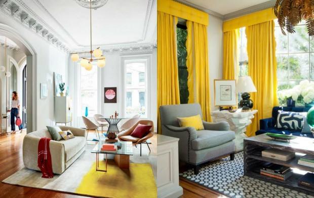 sarı dekorasyon ürünleri