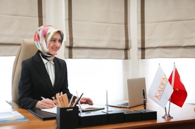 KADEM Başkanı Saliha Okur Gümrükçüoğlu.