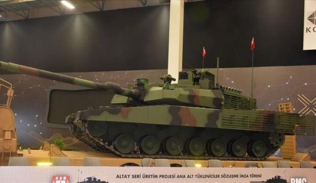 ASELSAN'dan Altay tankı açıklaması