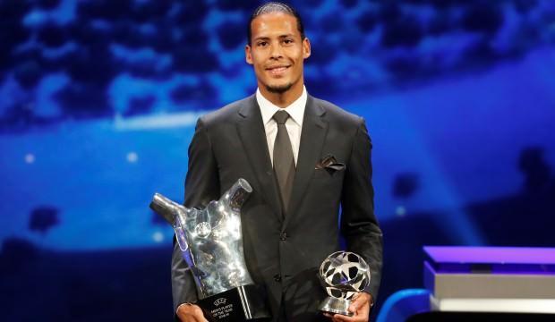 Avrupa'da yılın futbolcusu ödülü Van Dijk'ın!