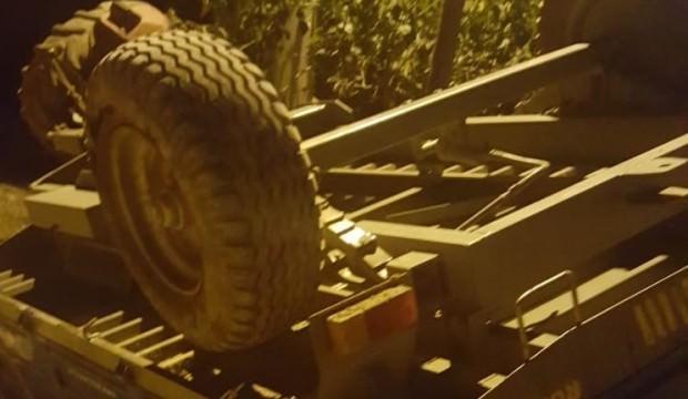 Bilecik'te traktör devrildi: 1 ölü