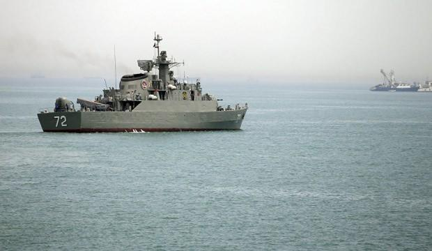 İran savaş gemileri Aden Körfezi'nde