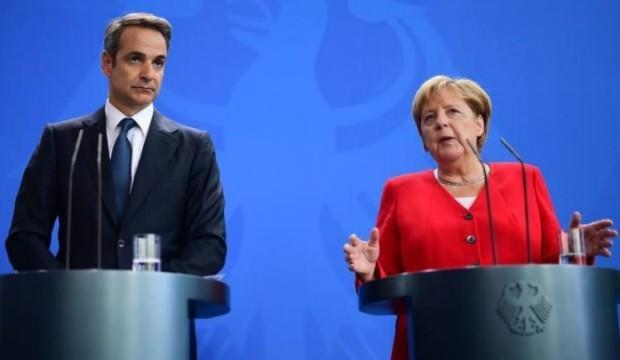 Merkel ve Miçotakis'ten Türkiye açıklaması