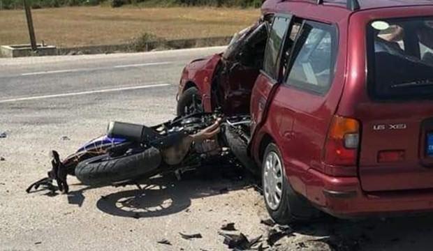 Satılığa çıkardığı motosiklet sonu oldu