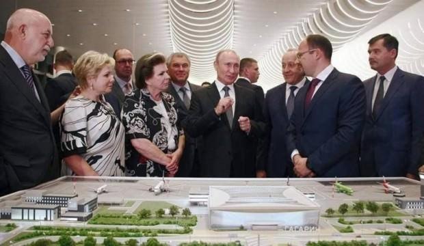 Türkler yaptı, Putin açışılını yaptı